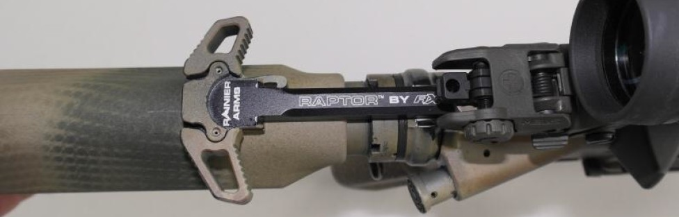 AR15 Charging Handle vs Raptor AR15 Charging Handle from my POV